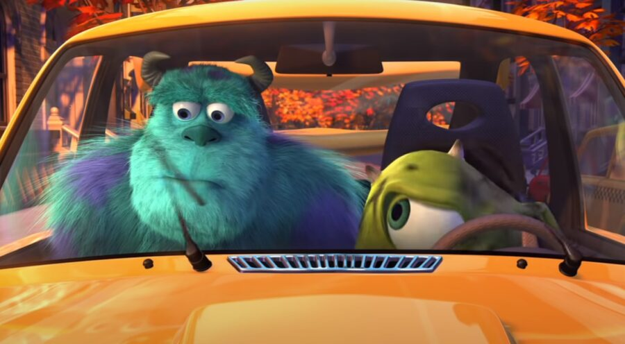 Mikeovo nové auto (Mike's New Car) — Pete Docter, Roger L. Gould